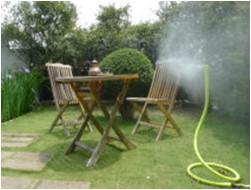 garten fun spr hsysteme nebelschlange nebelspinne rauch befeuchtungssysteme luftbefeuchtung. Black Bedroom Furniture Sets. Home Design Ideas