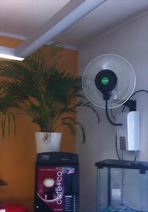 wasser zerst ubungsventilator zur freiluftk hlung www. Black Bedroom Furniture Sets. Home Design Ideas